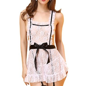 Zhhlaixing 高品質の Creative Women's Lingerie Set Charming Fun Pajamas Outfit EU991