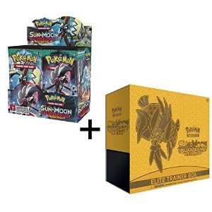 Pokemon Sun & Moon Guardians Rising Booster Box And Elite Trainer Combo! - Imported