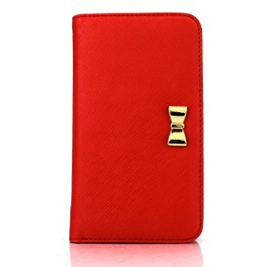 iPhone6s ケース Fantastick Wallet Case for iPhone6 iPhone6s (Ribbon Red) アイフォン6s アイフォン6 手帳型ケース