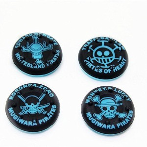 Thumbstick Grips for PS4 XBOX WII U Switch - Caps for all Controllers - Pirates Blue