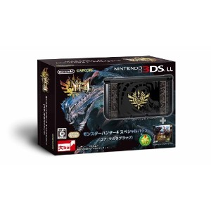 Nintendo Console 3ds XL - LL Monster Hunter 4 Special Pack (Gore-bending Black) by NINTENDO [並行輸入品]