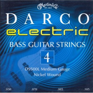 Martin Darco Nickel Wound 4 String Bass Guitar Strings (50-105)