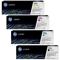 HP cf210Xブラック高Yield with cf211a、cf213a、cf212aカラー標準トナーセット