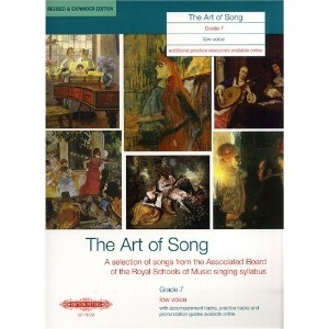 EDITION PETERS ART OF SONG (REVISED & EXPANDED EDITION) GRADE 7 LOW VOICE - VOICE AND PIANO...