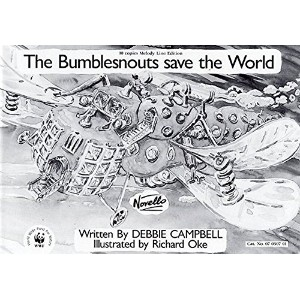 Debbie Campbell: The Bumblesnouts Save The World (Melody Line - Pack Of 10). Partitions pour Ligne...