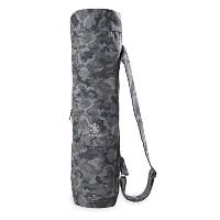 【Gaiam】Full-Zip Cargo Pocket Yoga Mat Bags ガイアム ヨガバッグ マットバッグ (Slate Camo)