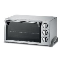 DeLonghi [デロンギ] オーブントースター EO1270 コンベクショントースターオーブン 6-Slice Convection Toaster Oven, Stainless Steel ...