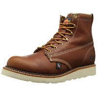 6inch PLAIN TOE WORKBOOTS 814-4355 (BROWN) (7.5inch EE)