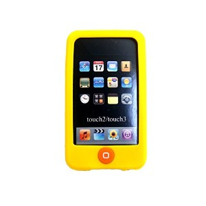 Msfort iPod Touch 2/3 【第2世代/第3世代】シリコンケース iPod Touch 2/3 Silicone Case (オレンジ)