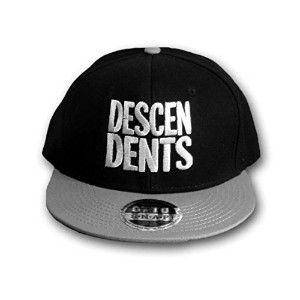 Descendents ディセンデンツ Black/Silver Snapbackキャップ