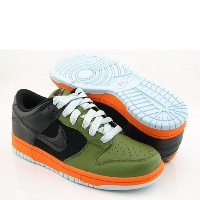 [ナイキ] NIKEレディーズ Women NI317813-301 Dunk Low -scenery green 25.5CM (US 8.5)