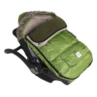 7AM Enfant Le Sac Igloo Footmuff, Converts into a Single Panel Stroller and Car Seat Cover - Kiwi,...