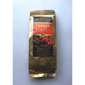 JJ ROYAL COFFEE (焙煎済豆) 約200g 【TORAJA COFFEE】