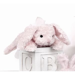"""CottontailピンクRabbit Rattle 8"""" by Bearington"""