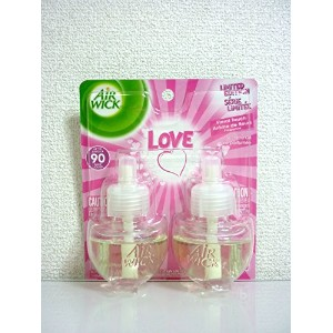 【Air Wick/エアーウィック】 期間限定 プラグインオイル詰替えリフィル(2個入り) ラブ Air Wick Limited Edition Scented Oil Twin Refill...