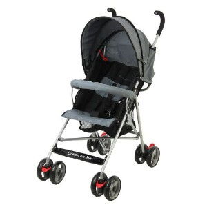 Dream On Me Single Stroller with large Canopy, Black by Dream On Me [並行輸入品]