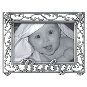 Malden Baby Scroll Metal Picture Frame by Malden