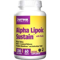 海外直送品 Alpha Lipoic Sustain, 300 mg, 60 Tabs by Jarrow Formulas