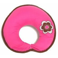 Damask Pink/chocolate Nursing Pillow by Bacati