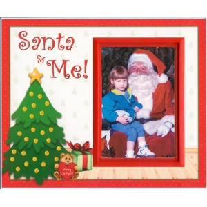 Santa and Me Christmas Picture Frame Gift by Expressly Yours! Photo Expressions