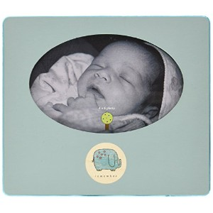 Tree By Kerri Lee Picture Frame Elephant, Turquoise by Tree by Kerri Lee