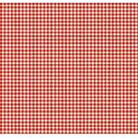 SheetWorld Fitted Pack N Play (Graco) Sheet - Primary Red Gingham Woven - Made In USA by sheetworld