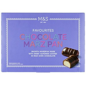 Marks & Spencer Chocolate Marzipan 150g - Smooth Marzipan Made with Sweet Almonds Coated in Rich...