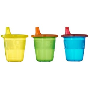 The First Years 6 Count Take & Toss Spill Proof Cups, 7 Ounce, Bonus Drip-Free Cap by The First...