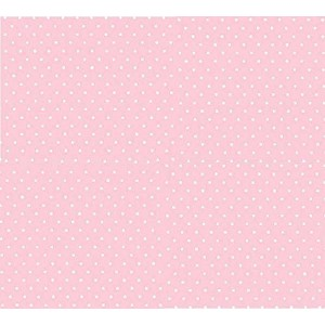 SheetWorld Fitted Pack N Play (Graco) Sheet - Pastel Pink Pindots Woven - Made In USA by sheetworld