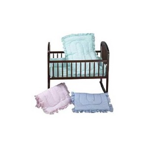 Baby Doll Bedding Gingham Cradle Set, Mint by BabyDoll Bedding