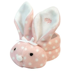 Stephan Baby Boo Bunnie Comfort Toy and Boo Cube, Baby Girl Polka Dot by Stephan Baby