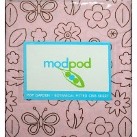 Modpod Pop Garden Botanical Fitted Baby Crib Sheet by KidsLine
