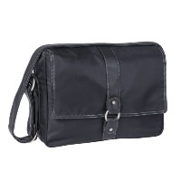 Lassig Glam Small Messenger Diaper Bag,black by Lassig