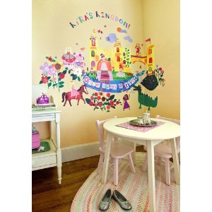 Oopsy Daisy Once Upon A Time Peel and Place Wall Art, 54 by 60 by Oopsy Daisy
