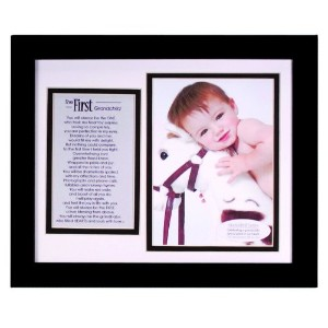 The Grandparent Gift Co. Photo Frame, First Grandchild by The Grandparent Gift (English Manual)