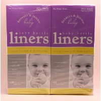 Berkley & Jensen Baby Bottle Liners (- 100 in each box - 8oz each bottle liner - Total 200 liners)...