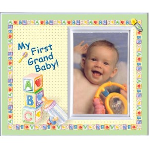 My First Grand Baby Picture Frame Gift by Expressly Yours! Photo Expressions