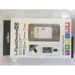iPhone6 / 6Plus / iPad 用 i-flash device HD マイクロSDアダプター