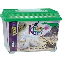 Lee's Kritter Keeper, Rectangle with Lid - Small, Assorted Colors by Lee