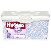 Huggies Supreme Thick-n-Clean Unscented Baby Wipes - 64-Count Tub (並行輸入品)