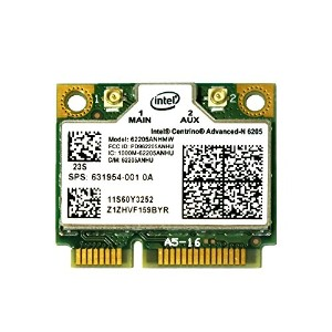 lenovo/HP純正 60Y3253 631954-001 Intel Centrino Advanced-N 6205 802.11a/b/g/n 300Mbps 無線LANカード