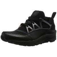 [ナイキ] NIKE W AIR HUARACHE LIGHT PRM 819011 002 (BLK/6)