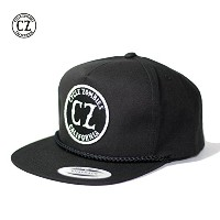 Cycle Zombies(サイクルゾンビーズ) CALIFORNIA Golfl Snapback Hat ブラック