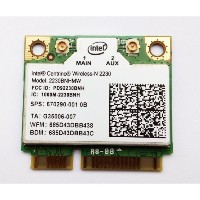 汎用 Intel Centrino Wireless-N 2230 802.11b/g/n 300Mbps + BlueTooth 4.0 (2230BNHMW)無線カード