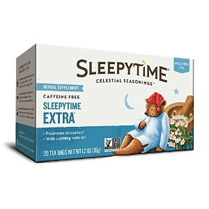 Celestial Seasonings, Wellness Tea, Sleepytime Extra, Caffeine Free, 20 Tea Bags, 1.2 oz (35 g)