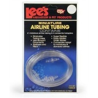 Lee's Mini Airline Tubing, 6-Foot w/4 Connectors by Lee