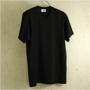 01 Tシャツ 黒L(久米繊維)
