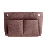 invite.L インナーバッグ Felt bag in bag - Chestnut 栗 IN11142