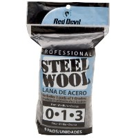 Red Devil33326-Pack Assorted Steel Wool-6PK ASSORTED STEEL WOOL (並行輸入品)