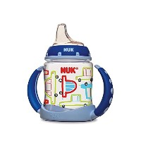 NUK Learner Cup Silicone Bundle Pack, Girl, 5 Ounce, 2 Count 取っ手付き 哺乳瓶 150ml お得な2本セット ボーイ